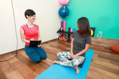 カウンセリング・運動経験や身体の悩み・痛みのチェック